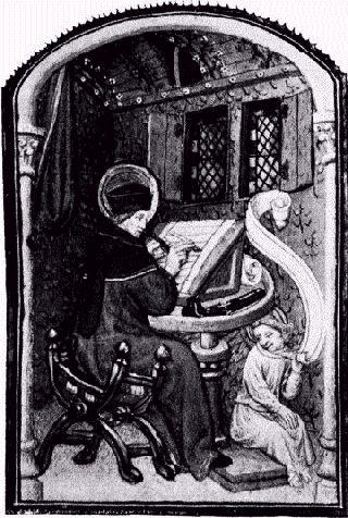 Scriptorium-15th Century - Project_Gutenberg